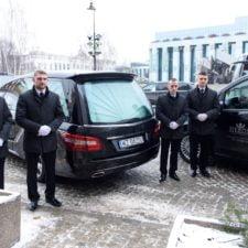 transport zmarłych na terenie stolicy