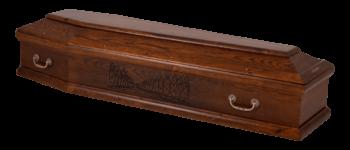 drewniana trumna