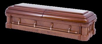 trumna ciemne drewno