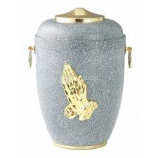 urna metal złote dodatki L 37