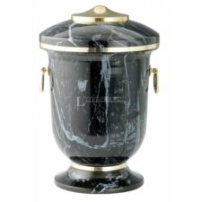 czarna urna motelowa