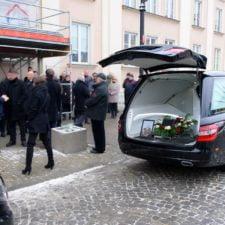 organizacja pogrzebu