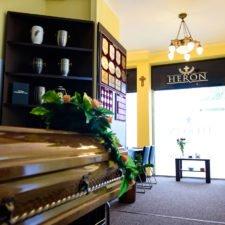 zakład pogrzebowy heron