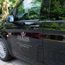 heron pogrzeby transport
